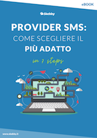 ebook scegliere provider SMS in 7 steps